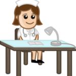nurse-on-reception