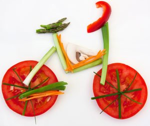 food bicycle image